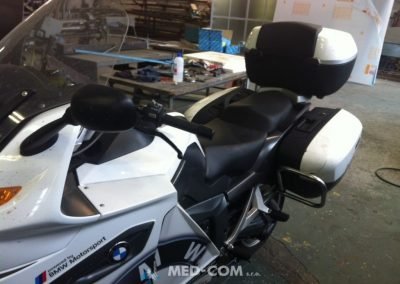 Bočný padák BMW 1300