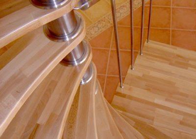 Detail točité schodisko 2