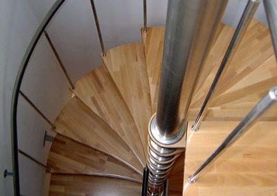 Detail točité schodisko 3