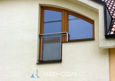 Francúzsky balkón - výplň ťahokov