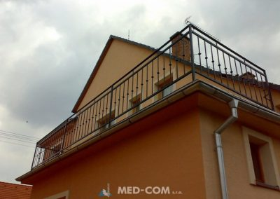 Kovaný balkón 2