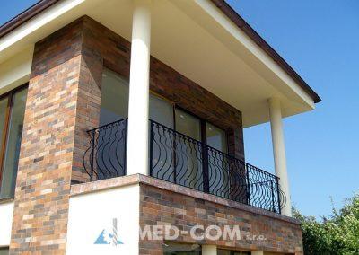 Kovaný balkón