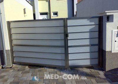 Nerezová brána - dvojdielna
