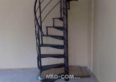 Točité schodisko 3