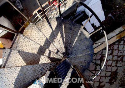 Točité schodisko vonkajšie 2