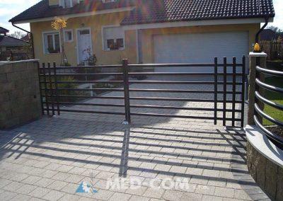 Trubková brána dvojdielna