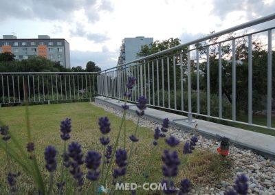 Zábradlie - vonkajšia terasa